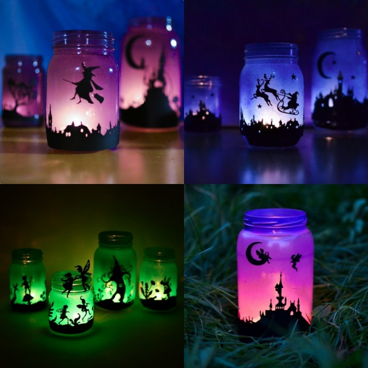 how-to-make-silhouette-mason-jar-lanterns